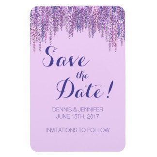 Wisteria-Save the Date Magnet