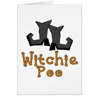 Witchie Poo T - Shirts und Geschenke Karte