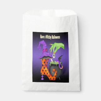 Witchy Halloween Bevorzugungs-Tasche Geschenktütchen