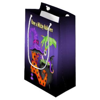 Witchy Halloween Geschenk-Tasche Kleine Geschenktüte