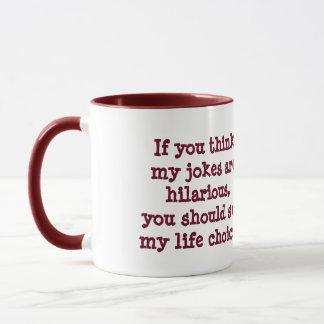 Witzlebenwahlen der lustigen Kaffee-Tasse Tasse