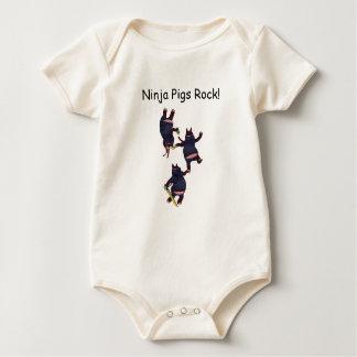 Wizard101 Ninja Schwein-Felsen Onesee Baby Strampler