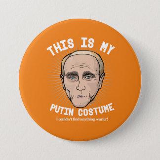 Wladimir Putin Halloween Kostüm - ich könnte nicht Runder Button 7,6 Cm