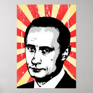 Wladimir Putin Plakatdrucke