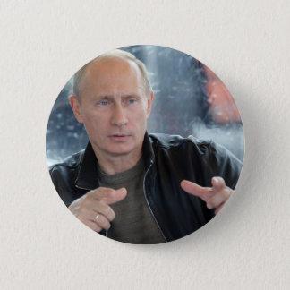 Wladimir Putin Runder Button 5,7 Cm