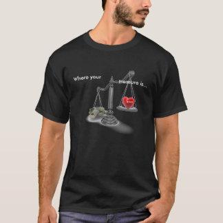 Wo Ihr Schatz T - Shirt ist