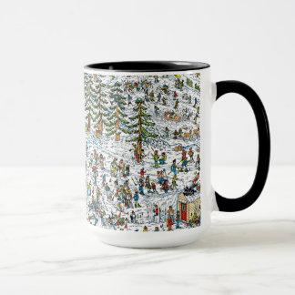 Wo ist, neigt sich Waldo Ski Tasse