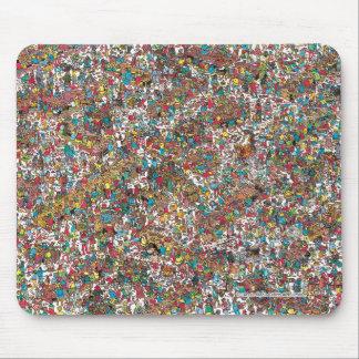 Wo Waldo | das Verschlingen Gluttons ist Mousepad