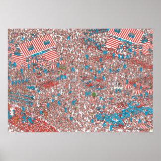 Wo Waldo Land der Schüsse ist Poster