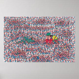 Wo Waldo | Land von Waldos ist Poster
