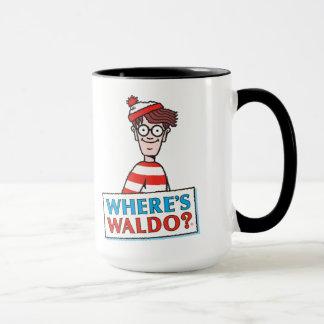 Wo Waldo Logo ist Tasse