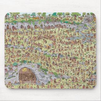 Wo Waldo | Steinzeitalter ist Mousepad
