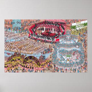 Wo Waldo | ungeheures Lied und Tanz ist Poster