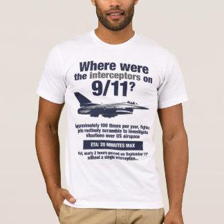Wo waren die 911 Auffänger? Der T - Shirt der