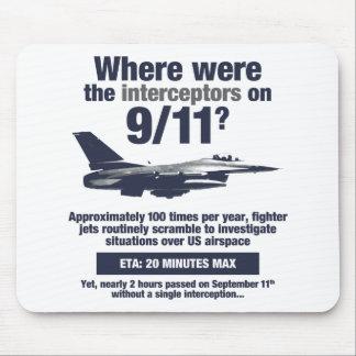 Wo waren die 911 Auffänger? Mousepad
