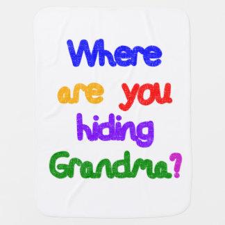 Woher verstecken Sie Großmutter? Kinderwagendecke