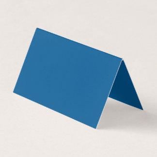 Wohltätig einflussreiche blaue Farbe Visitenkarten