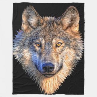 Wolf-Art-Fleece-Decke Fleecedecke