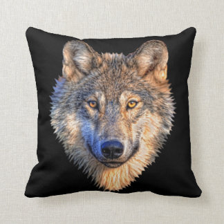 Wolf-Art-Wurfs-Kissen Kissen