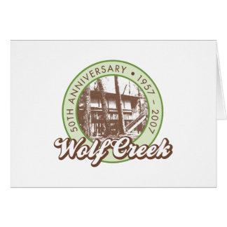 Wolf Creek Notecards Karte