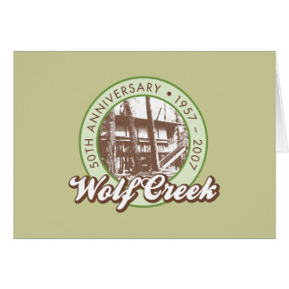 Wolf Creek Notecards Karte