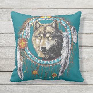 Wolf Dreamcatcher Kissen