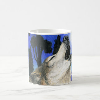 Wolf-Heulen-Tasse