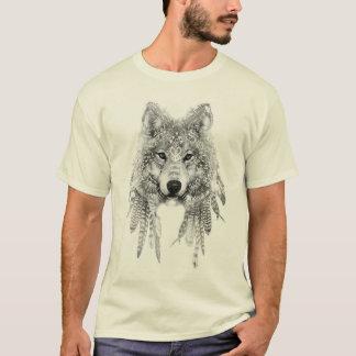 Wolf im einheimischen KleiderT - Shirt