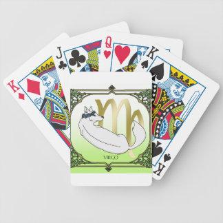 Wolf-Jungfrau Bicycle Spielkarten