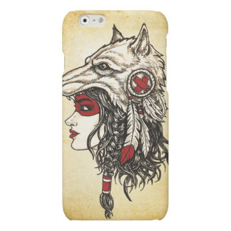 Wolf-Kopfschmuck iPhone 6 Lech-Kasten
