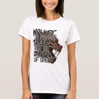 Wolf-Meinung T-Shirt
