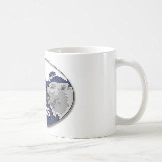 Wolf-MittelTasse Kaffeetasse