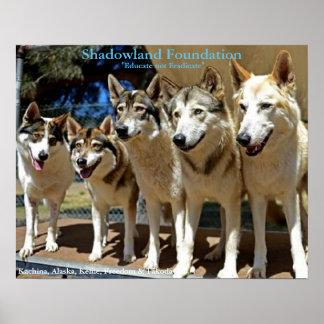 Wolf-Spiel Poster