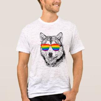 Wolf-Stolz-Sonnenbrille T-Shirt