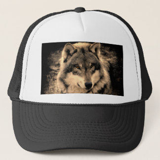 Wolf Truckerkappe