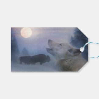 Wolf-und Büffel-südwestliche Geschenk-Umbauten Geschenkanhänger