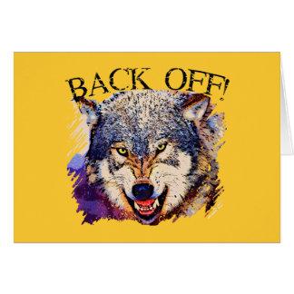 WOLF… ZIEHEN SICH ZURÜCK! KARTE