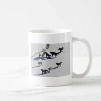 Wölfe Kaffeetasse