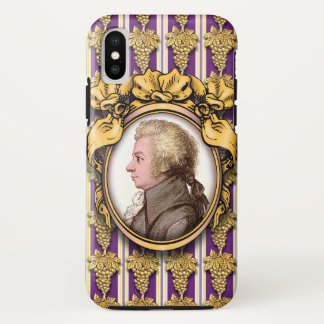 Wolfgang Amadeus Mozart iPhone X Hülle