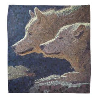 Wolfmosaik - Bandana Kopftuch