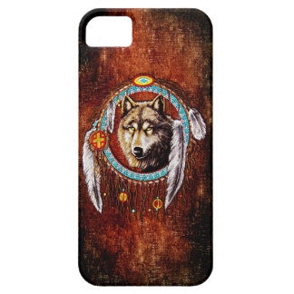 Wolftraumfänger indischer Eingeborener Hülle Fürs iPhone 5