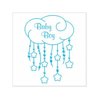 Wolke bördelt Stern-Mobile-Baby Permastempel