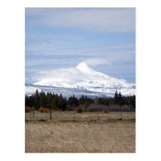 Wolken auf Mt. Jefferson Postkarte