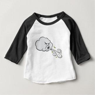 Wolken-durchbrennenwind-windiger Tag Baby T-shirt