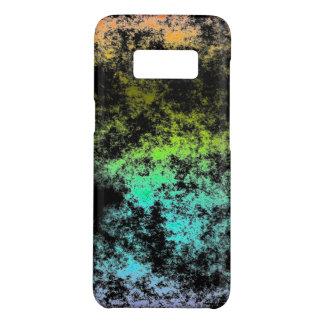 Wolken-Galaxie-Raum-Regenbogen auf schwarzen Case-Mate Samsung Galaxy S8 Hülle