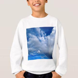 Wolken-Nachmittag duscht Zion Utah Sweatshirt