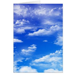 Wolken (Porträt) Karte