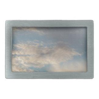 Wolken Rechteckige Gürtelschnallen