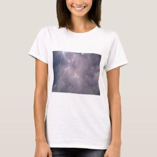 Wolken und Strahlen T-Shirt