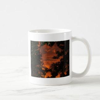 Wolken und Treetops Kaffeetasse